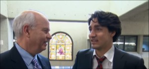 Trudeau at OPL