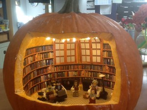 Library Pumpkin